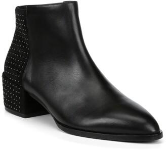 Donald J Pliner Devasp Leather & Suede Studded Bootie