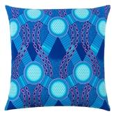Found Object Wax Resist Pillow