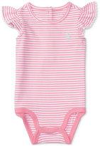 Ralph Lauren Striped Cotton Bodysuit, Baby Girls (0-24 months)