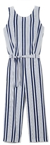 Vince Camuto Two by Striped Culotte Jumpsuit