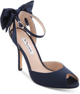 Nina Martina d'Orsay Bow Evening Sandals