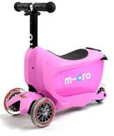 Micro Kickboard Mini2Go 3-in-1 Scooter, Pink
