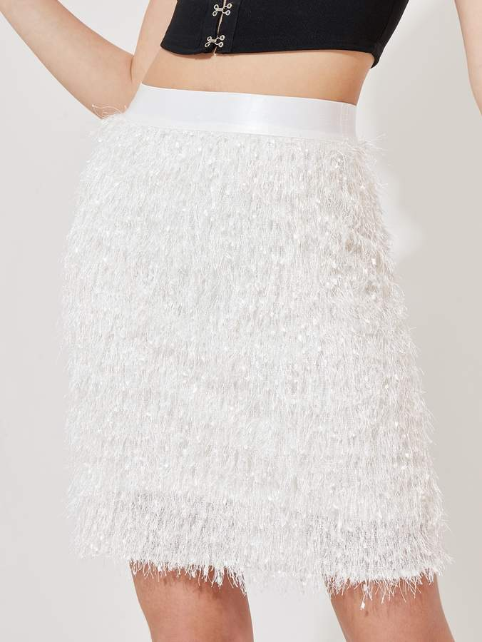 09640dd277 Feather Mini Skirt - ShopStyle