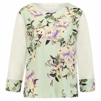 Rich & Royal rich&royal Women's Bugel Larissa T-Shirt-bh Softschalen Nahtlos Long Sleeve Top