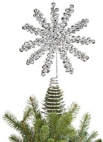 Bloomingdale's Jingle Bell Snowflake Tree Topper - 100% Exclusive