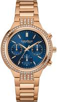 Caravelle New York 44L181 Women's Stainless Bracelet Blue Dial Watch