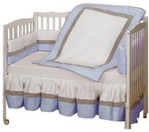 Baby Doll Bedding Classic II Crib Bedding Set - Blue
