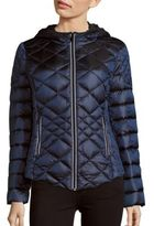 Saks Fifth Avenue Missy Diamond Quilted Puffer Jacket