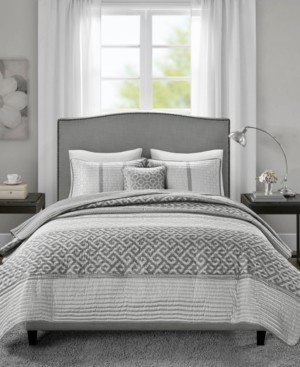 Madison Home USA Bennett Full/Queen 4 Piece Jacquard Coverlet Set