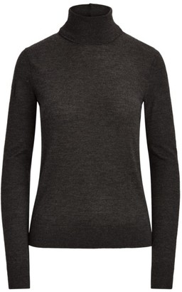 Ralph Lauren Long-Sleeve Cashmere Turtleneck Sweater