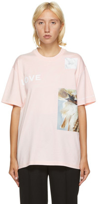 Burberry Pink Carrick Statues T-Shirt