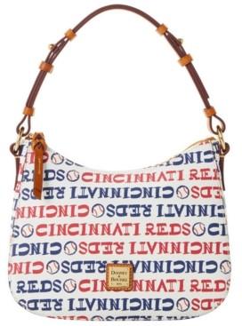 Dooney & Bourke Cincinnati Reds Small Kiley Hobo Bag