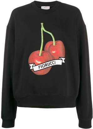 Fiorucci Cherries relaxed-fit sweatshirt