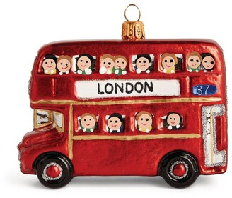 Harrods London Bus Tree Decoration