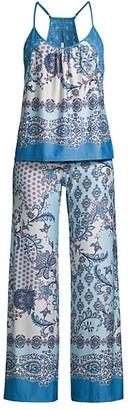 In Bloom Davida 2-Piece Paisley Camisole & Pants Pajama Set