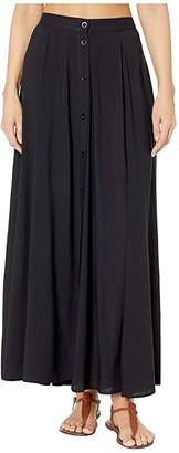 Body Glove Lisa Maxi Skirt Cover-Up (Black) Women's Swimwear