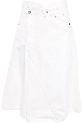 Proenza Schouler Flared Denim Skirt