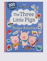 Marks and Spencer The Three Little Pigs Sticker Book