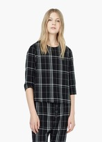 Mango Outlet Check Top