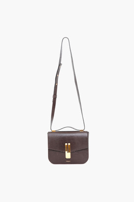 DeMellier Tobacco Lizard Effect Vancouver Bag