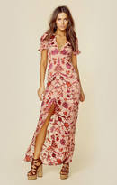 For love and lemons saffron maxi dress