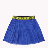 Tommy Hilfiger Pleated Chiffon Flared Skirt