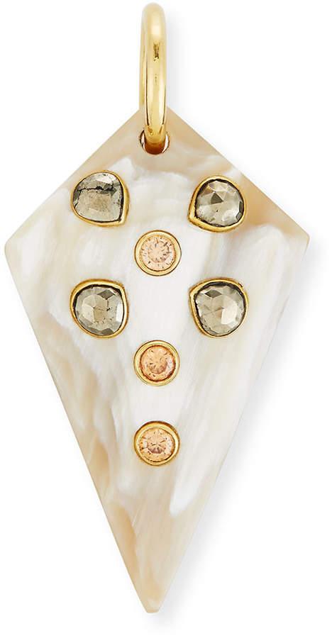 Ashley Pittman Mhindi Light Horn Pendant
