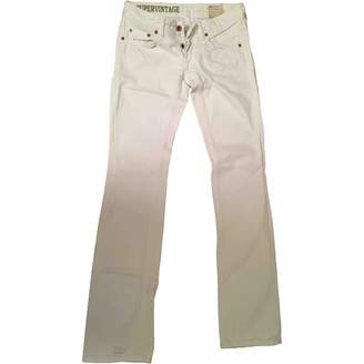 Mauro Grifoni White Cotton Jeans for Women