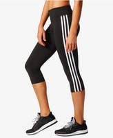 adidas D2M Three Stripes Climalite® Cropped Leggings