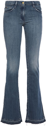 BA&SH Faded Low-rise Flared Jeans