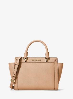 MICHAEL Michael Kors Brandi Small Saffiano Leather Messenger Bag