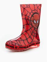 Spiderman Light Up Welly