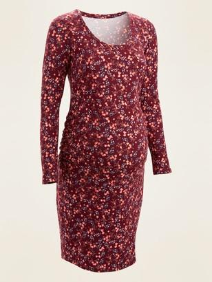 Old Navy Maternity Jersey-Knit Bodycon Dress