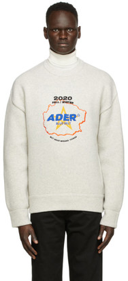Ader Error Grey Geosta Sweater