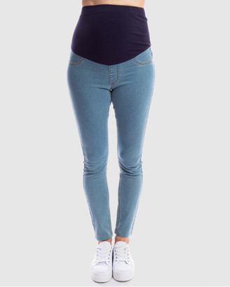 Maive & Bo - Women's Jeans - Good Genes Maternity Jeggings - Size One Size, S at The Iconic