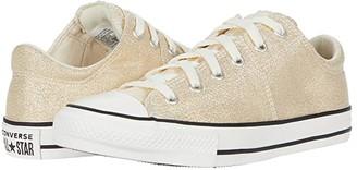 Converse Chuck Taylor(r) All Star(r) Madison Summer Sparkle - Ox (Little Kid/Big Kid) (Egret/Orange Calcite/Vintage White) Girl's Shoes