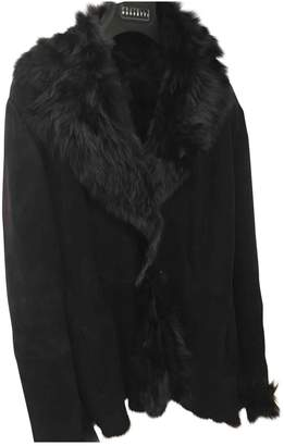 Fratelli Rossetti Anthracite Fur Leather jackets