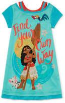 Disney Moana Nightshirt-Big Kid Girls