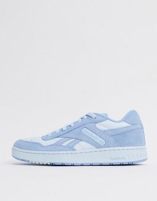 Reebok Classics BB 4000 sneakers in blue suede