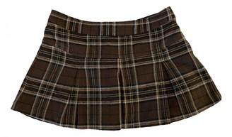 Benetton Multicolour Cotton Skirts