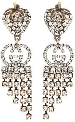 Gucci Strawberry drop earrings