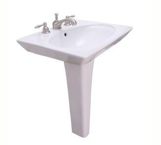 Pottery Barn Bond Oval Pedestal Sink