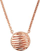 Links of London Thames 18ct rose-gold vermeil necklace