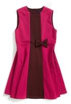Tommy Hilfiger Bow Stripe Sleeveless Dress