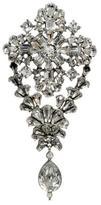 Ben-Amun Crystal Diamond Shaped Pin with Hanging Crystal