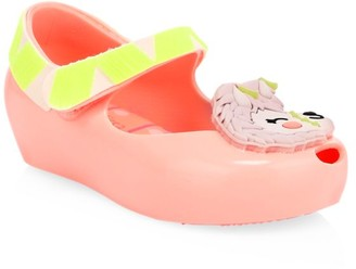 Mini Melissa Baby's & Little Girl's Ultragirl Llama Flats
