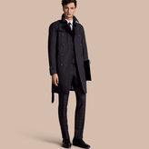 Burberry The Chelsea - Long Heritage Trench Coat , Size: 46, Blue