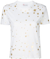 RED Valentino star print T-shirt - women - Cotton - S