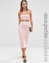Asos Midi Pencil Skirt in Jersey Co-ord