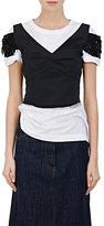 Dries Van Noten Women's Chaney Embellished Faille Crop Top